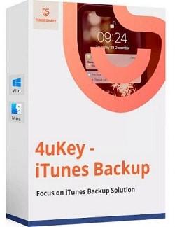 4uKey - iPhone Backup Unlocker Cover