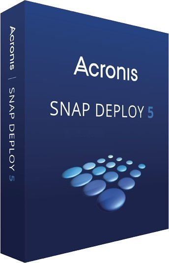 Acronis Snap Deploy Cover