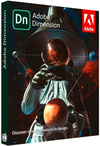 Adobe Dimension 2020 Cover