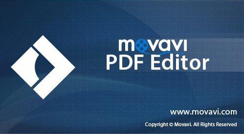 Movavi PDF Editor Cover