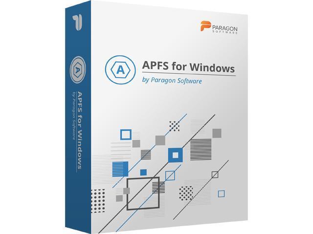 Paragon APFS for Windows Cover