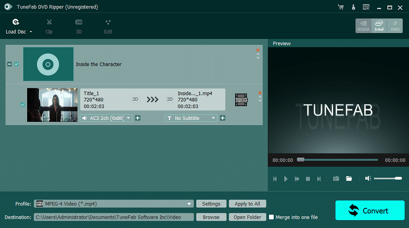 TuneFab DVD Ripper