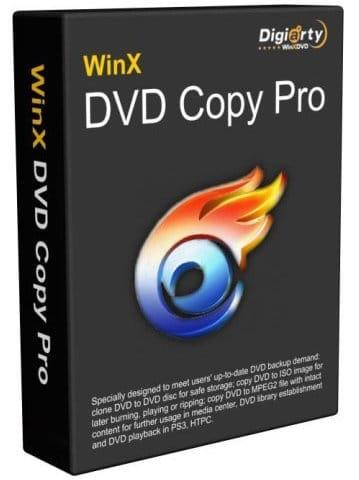 WinX DVD Copy Pro Cover