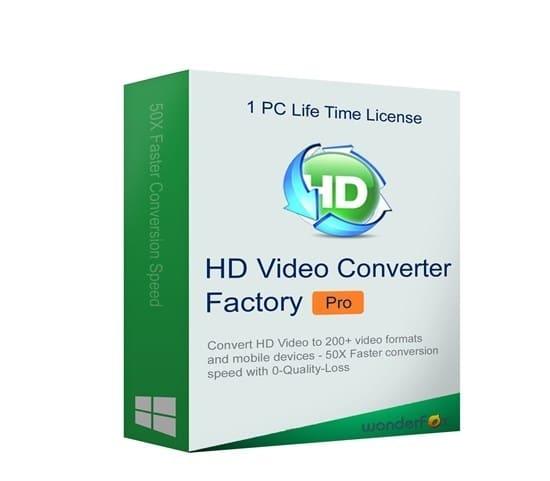 WonderFox HD Video Converter Factory Pro Cover