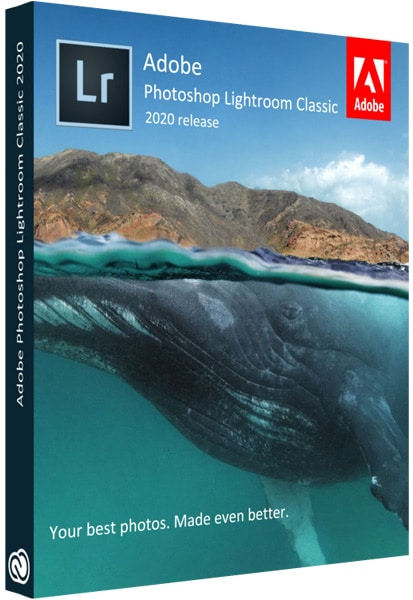 Adobe Photoshop Lightroom Classic Cover