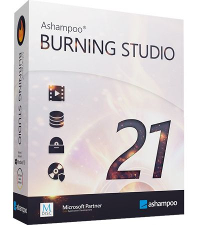 Ashampoo Burning Studio Cover