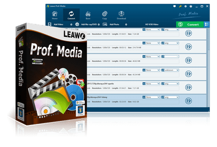 Leawo Prof. Media Cover