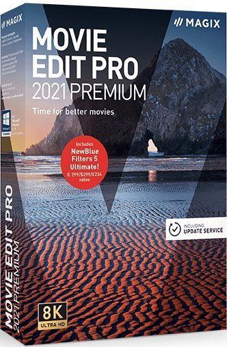 MAGIX Movie Edit Pro 2021 Premium Cover