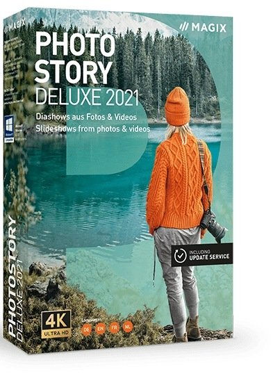 MAGIX Photostory 2021 Deluxe Cover