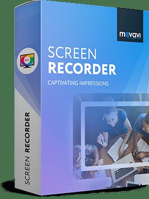 Movavi Screen Recorder Cover