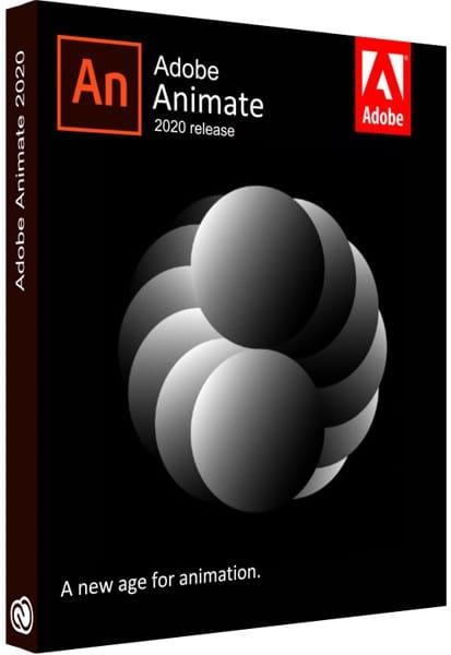 Adobe Animate 2020 Cover