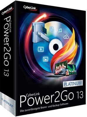 CyberLink Power2Go Platinum Cover
