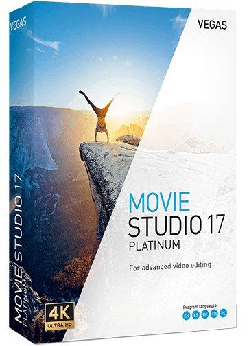 MAGIX VEGAS Movie Studio Platinum Cover