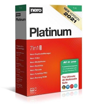 Nero Platinum Suite 2021 Cover
