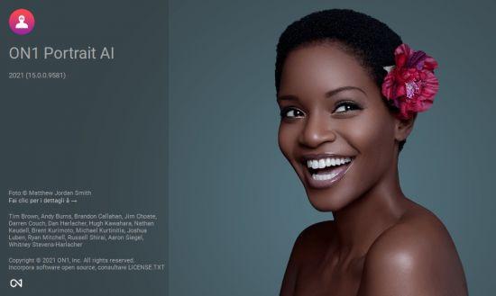 ON1 Portrait AI 2021 Cover