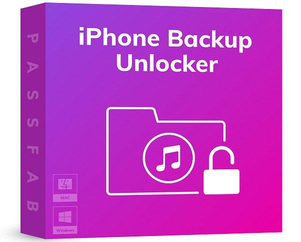 PassFab iPhone Backup Unlocker Cover
