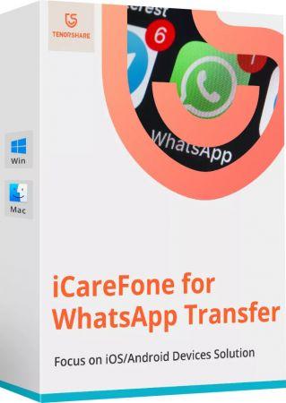 Tenorshare iCareFone for WhatsApp Transfer Cover