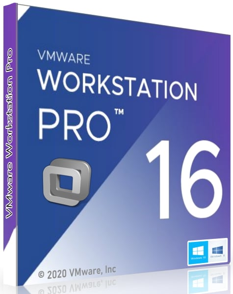 VMware Workstation Pro 16 Cover