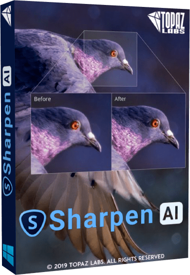 Topaz Sharpen AI Cover