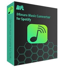 DRmare Music Converter for Spotify Cover