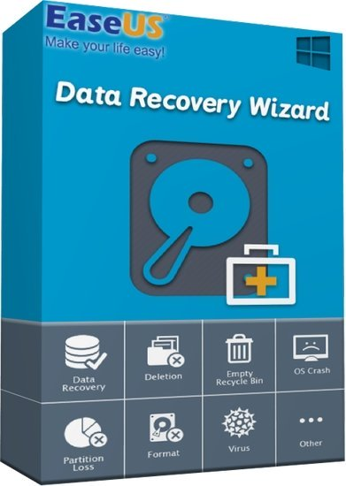 EaseUS Data Recovery Wizard Cover