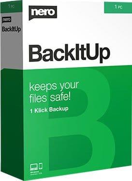 Nero BackItUp Cover