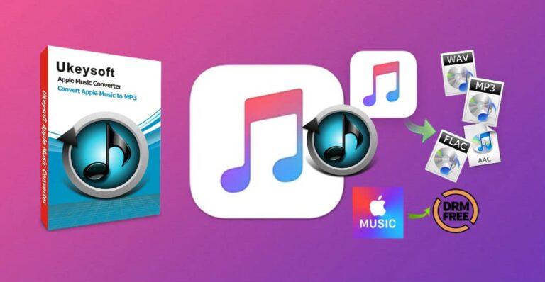 Ukeysoft Apple Music Converter Cover