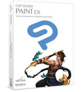 Clip Studio Paint EX Cover