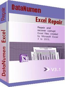 DataNumen Excel Repair Cover