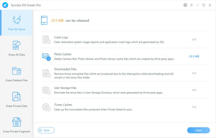 Syncios iOS Eraser Pro