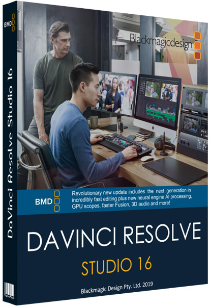 Blackmagic Design DaVinci Resolve Studio cover
