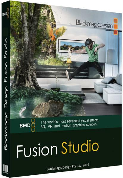 Blackmagic Design Fusion Studio Cover