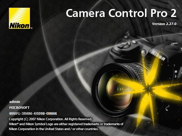 Nikon Camera Control Pro Cover