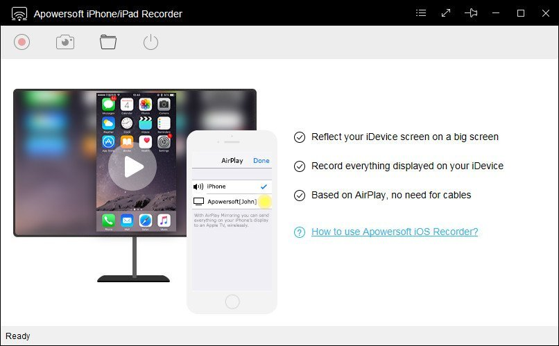 Apowersoft iPhone Recorder
