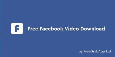 FreeGrabApp Free Facebook Video Download Cover