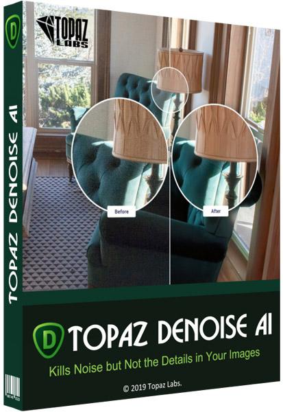 Topaz DeNoise AI Cover