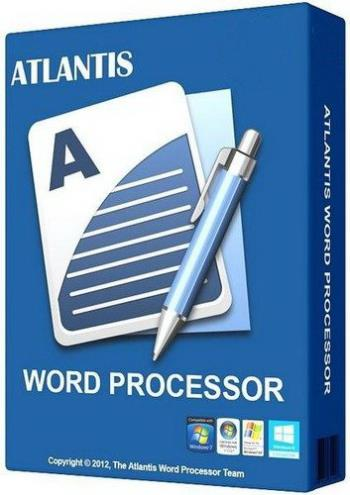 Atlantis Word Processor Cover
