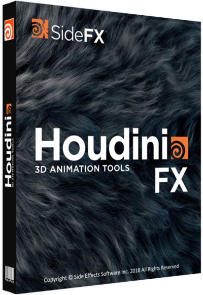 SideFX Houdini FX Cover