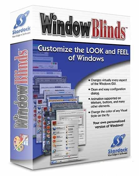 Stardock WindowBlinds Cover