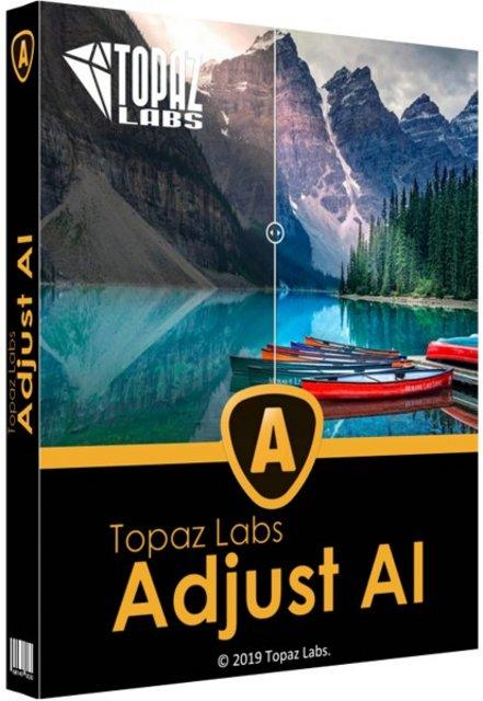 Topaz Adjust AI Cover