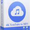 4K YouTube to MP3 Cover