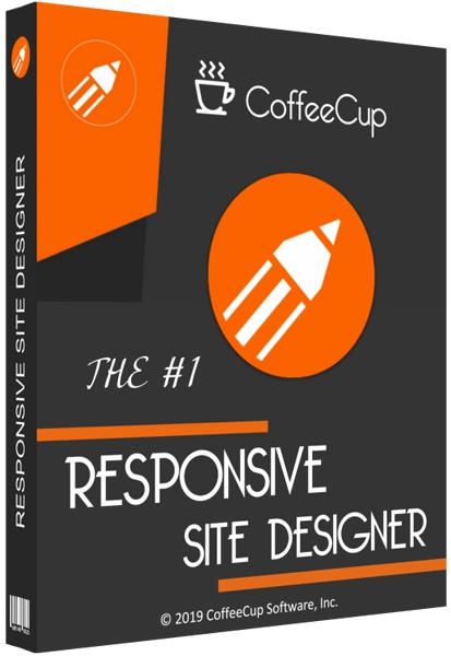 CoffeeCup Responsive Site Designer Cover
