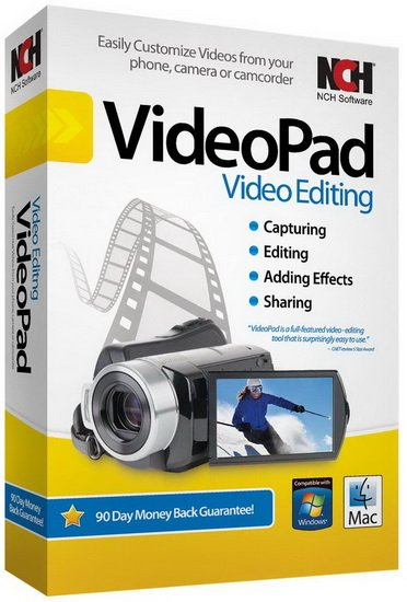 NCH VideoPad Pro Cover