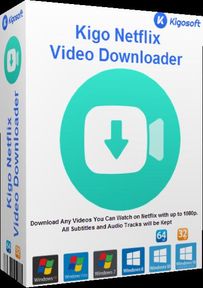 Kigo Netflix Video Downloader Cover