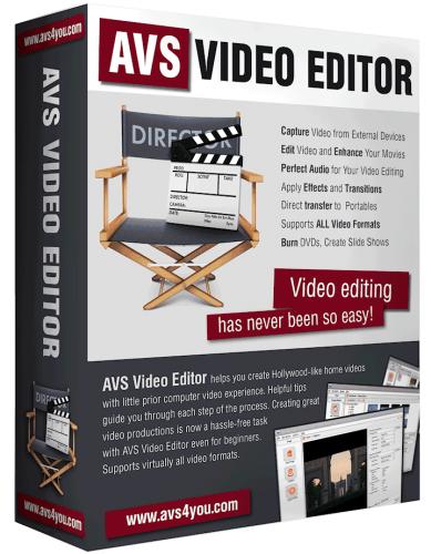 AVS Video Editor Cover