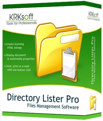 Directory Lister Pro Cover