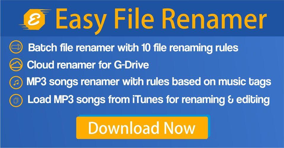 Easy File Renamer Cover