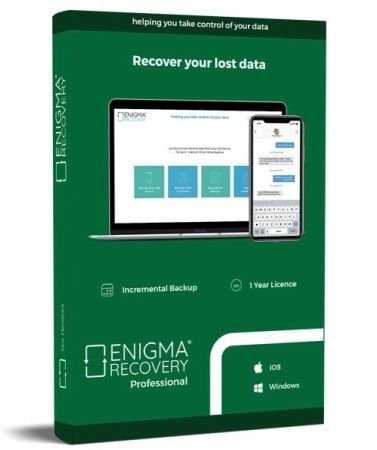 Enigma Recovery Professional Cover